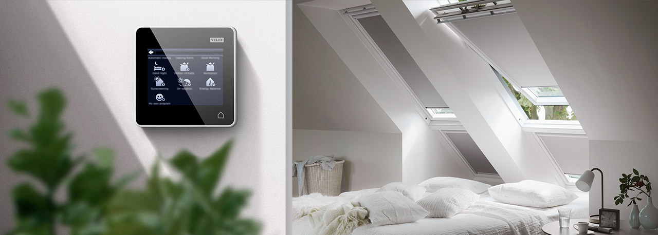 Velux integra family remote controlled roof windows for Velux customer support